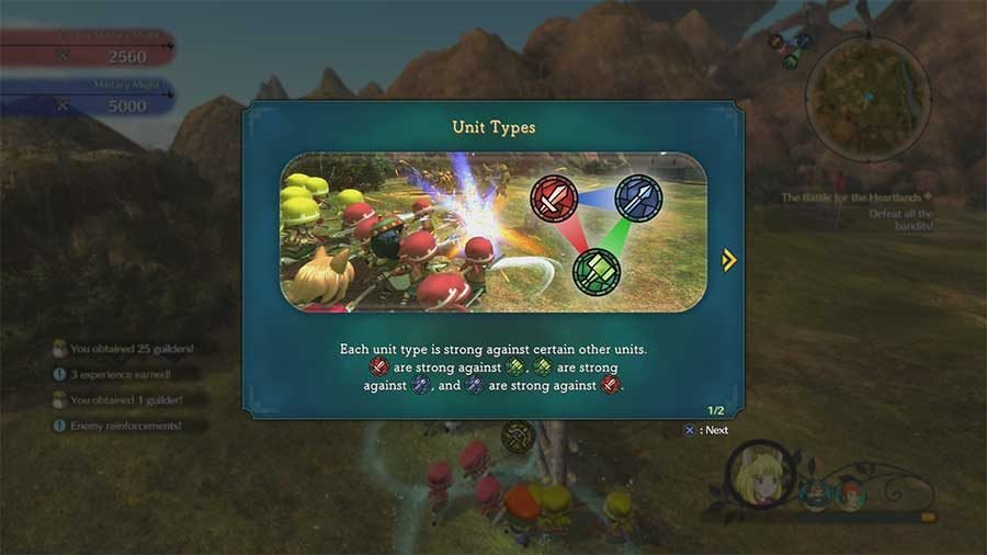 Ni No Kuni 2 Skirmish Guide Strengths And Weaknesses