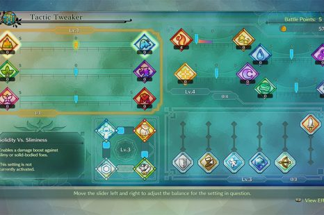 Ni No Kuni 2 Tactic Tweaker Guide