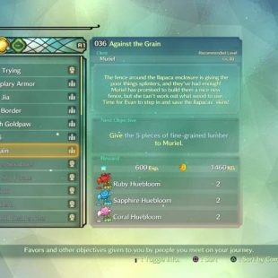 Where To Find Fine Grained Lumber In Ni No Kuni 2