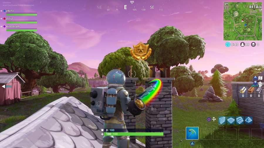 Fortnite Moisty Mire Treasure Map 2