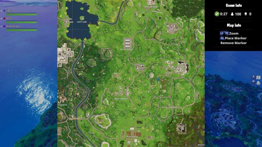 Fortnite Moisty Mire Treasure Map