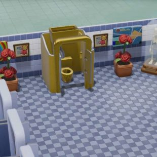 Two Point Hospital Reveals The Golden Toilet