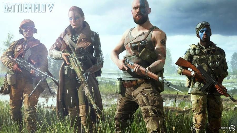 Battlefield V - Gamers Heroes