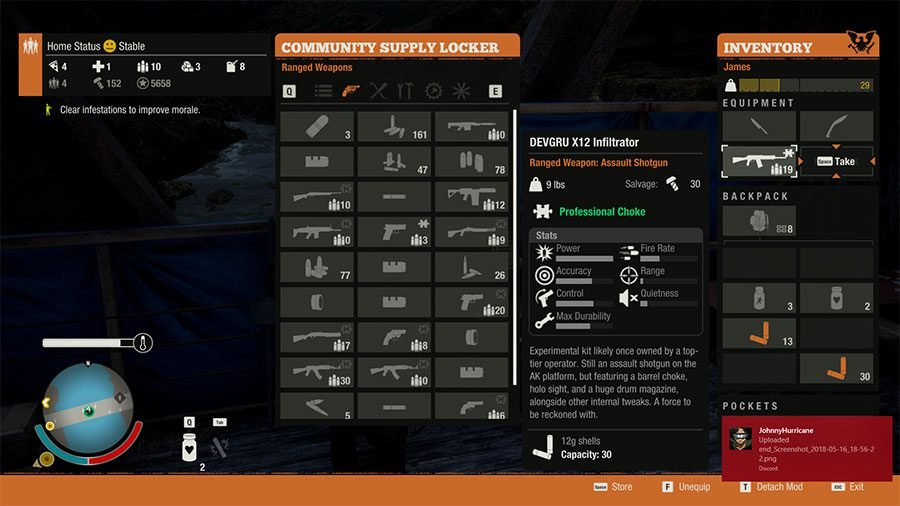 Best Weapons In State Of Decay 2 - #2 DEVGRU X12 Infiltrator
