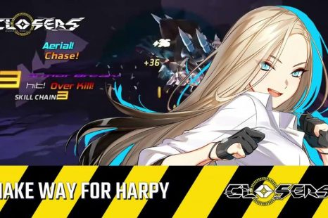 Closers' Harpy Character Now Available