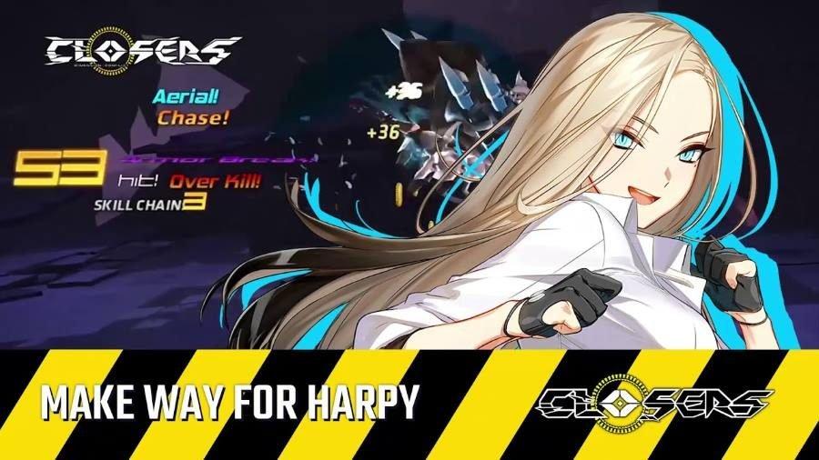 Closers Harpy - Gamers Heroes