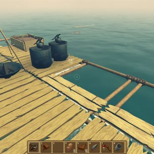 How To Harvest Items Under The Water In Raft