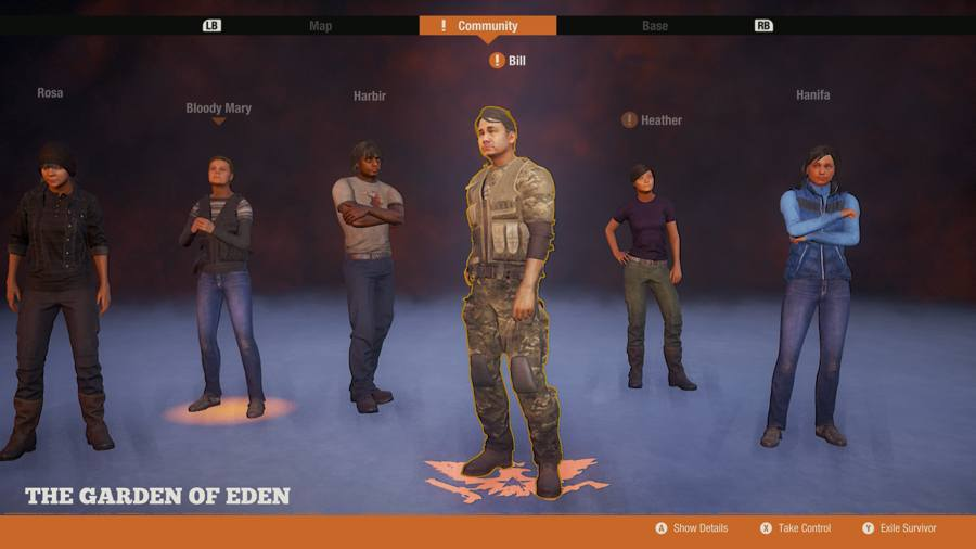 Leader slot state of decay 2