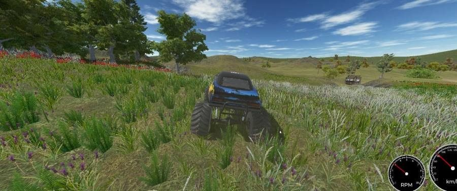 Monster Truck Drive - Gamers Heroes