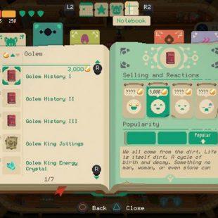Moonlighter Item Price Guide