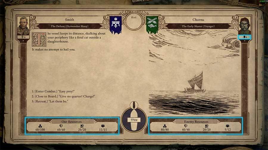 Pillars Of Eternity II Deadfire Ship Combat Guide - Initiating Combat