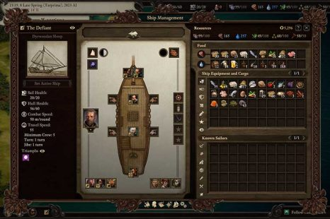 Pillars Of Eternity II: Deadfire Ship Management Guide