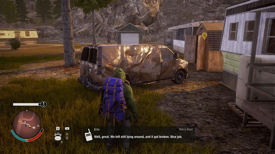 State Of Decay 2 Vehicle Location Guide - Cargo Van