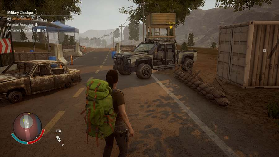 State of decay 2 Military truck location