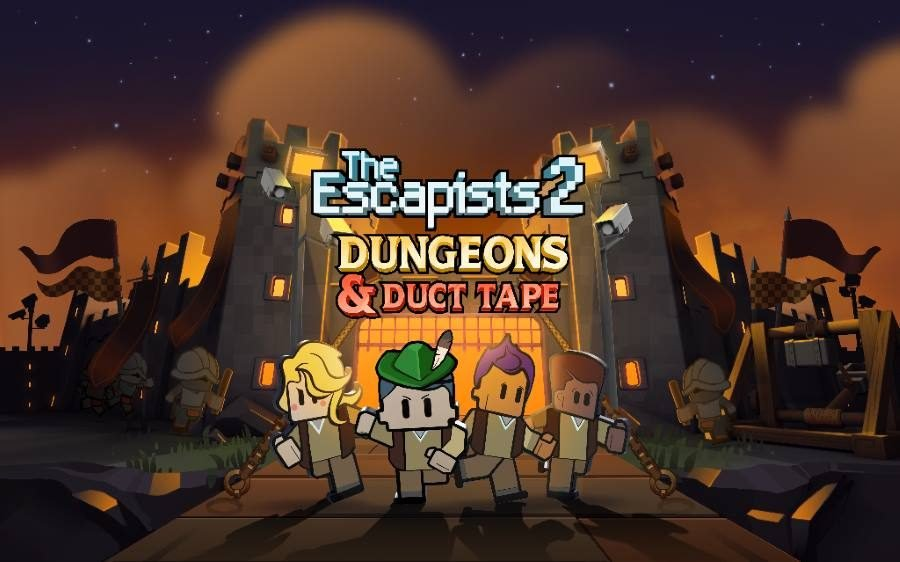 The Escapists 2 Dungeons and Duct Tape - Gamers Heroes