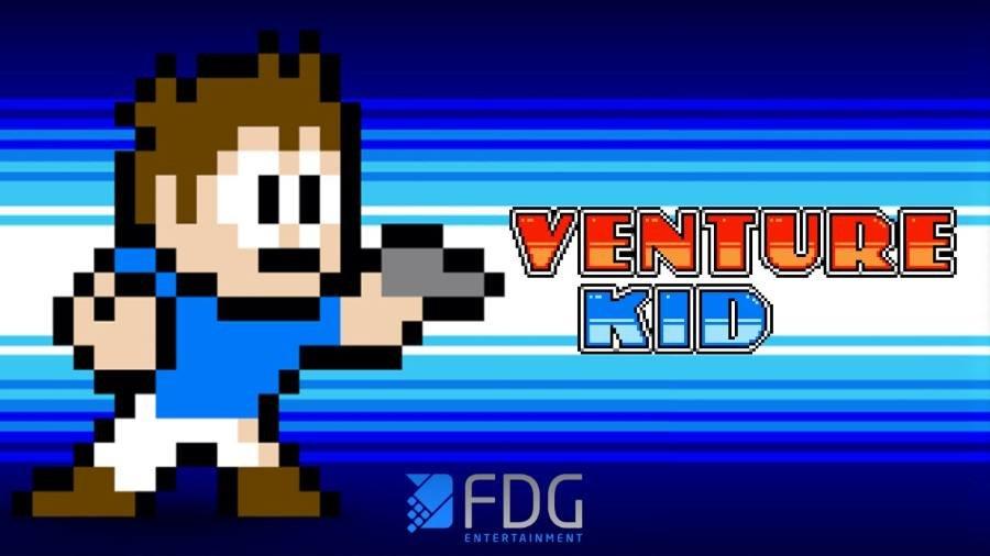 Venture Kid - Gamers Heroes
