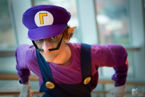 Cosplay Wednesday – Mario's Waluigi