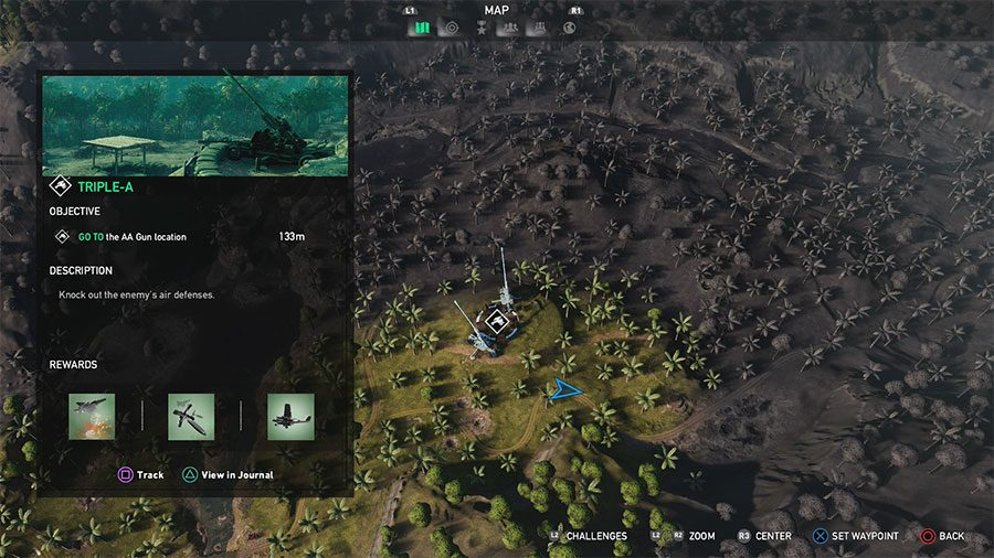 AA Gun Location #3 (Triple A)