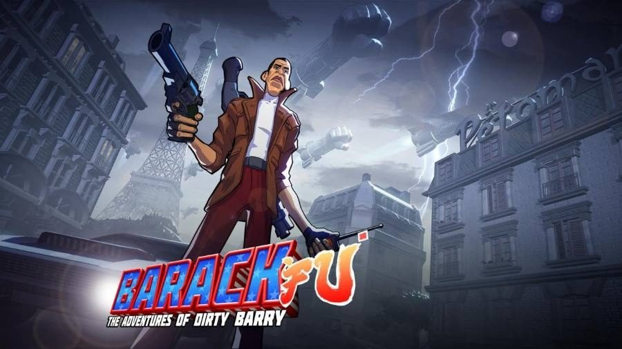 Barack Fu - Gamers Heroes