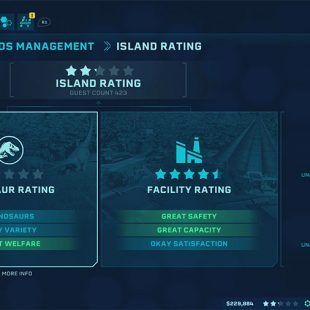How To Increase Island Rating In Jurassic World Evolution