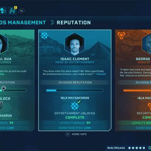 Jurassic World Evolution Entertainment Contracts Guide