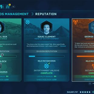 Jurassic World Evolution Security Contracts Guide