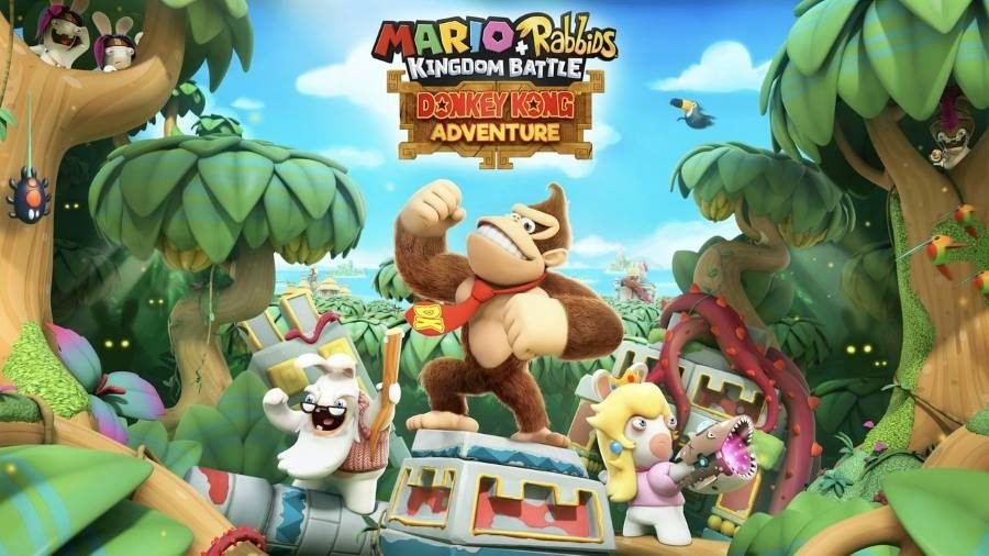 Mario and Rabbids Donkey Kong Adventure - Gamers Heroes