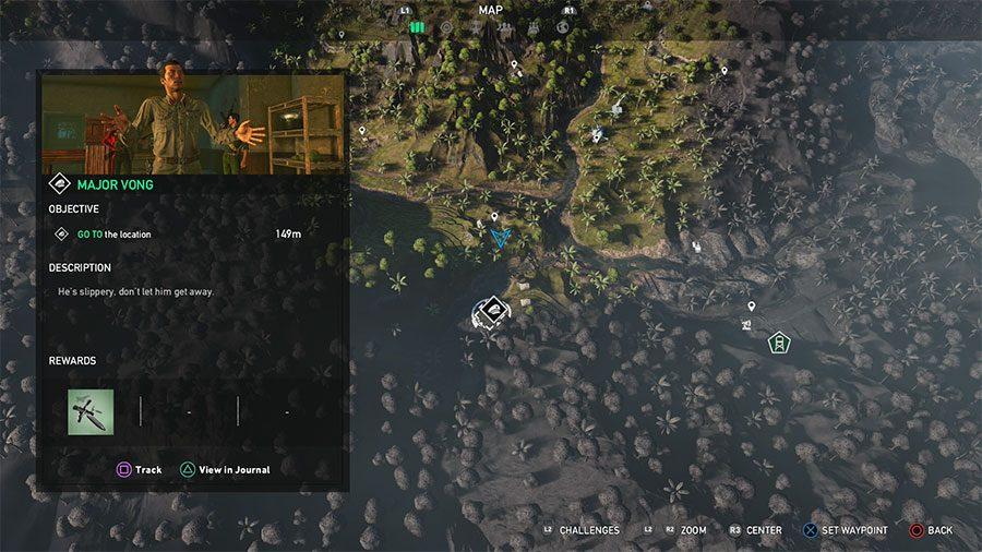 NVA Commander Location #2 - Major Vong
