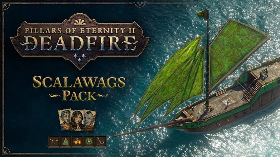 Pillars of Eternity II Deadfire Scalawags Pack - Gamers Heroes
