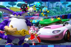 Team Sonic Racing's Team Rose Detailed