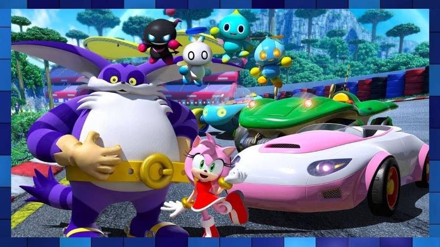 Team Sonic Racing Team Rose - Gamers Heroes