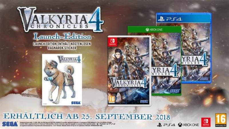 Valkyria Chronicles 4 Launch Edition - Gamers Heroes