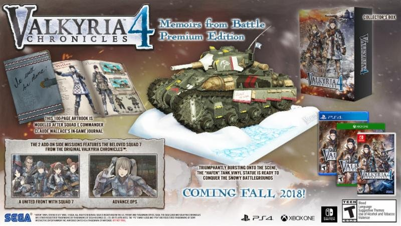 Valkyria Chronicles 4 Memoirs from Battle Edition - Gamers Heroes