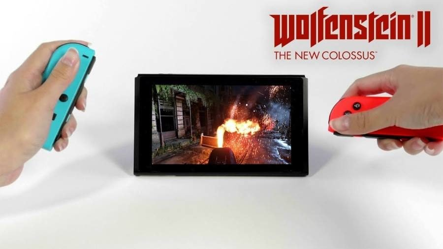 Wolfenstein II Switch - Gamers Heroes