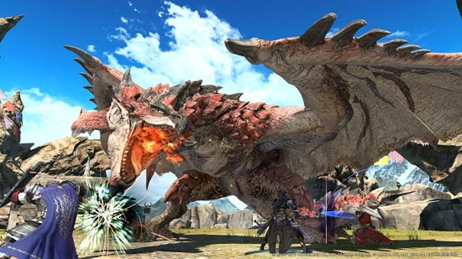 Final Fantasy XIV Monster Hunter - Gamers Heroes
