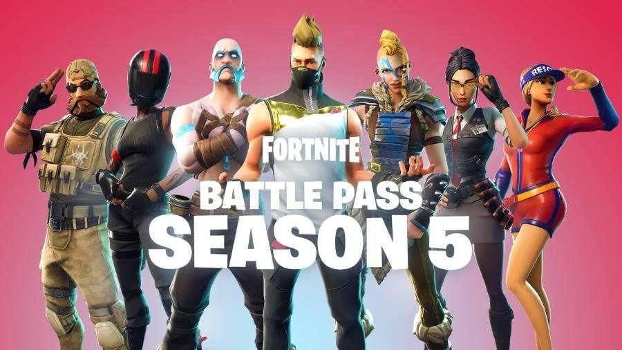 Fortnite Battle Pass Season 5 - Gamers Heroes
