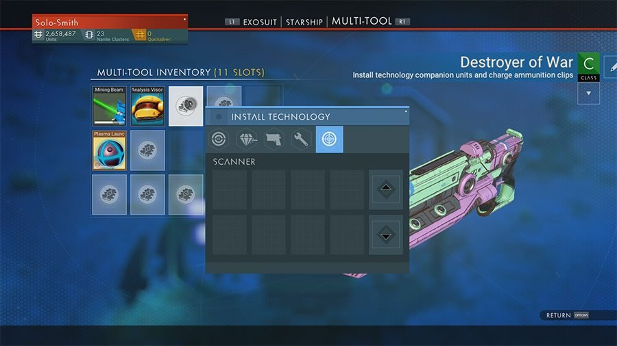 How To Analyze In No Man's Sky Next For Analysis Objectives