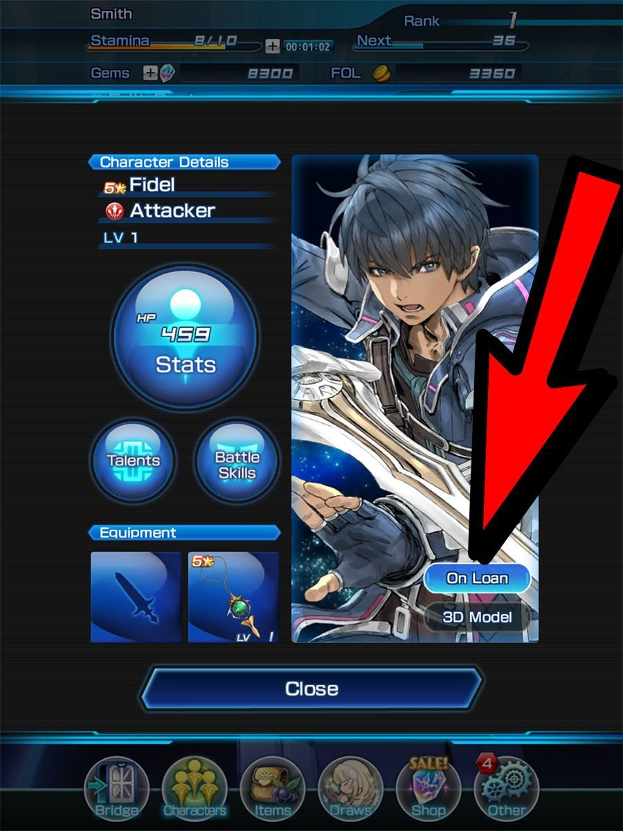 How To Change Your Loan Character In Star Ocean Anamnesis