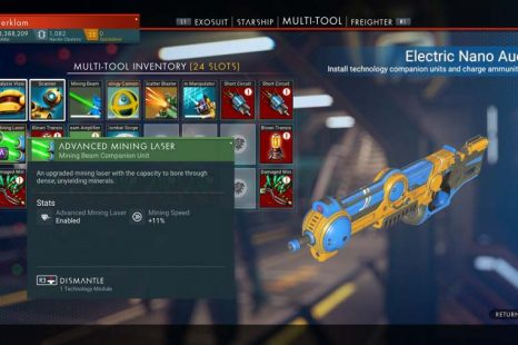How To Get The Upgraded Mining Laser In No Man's Sky