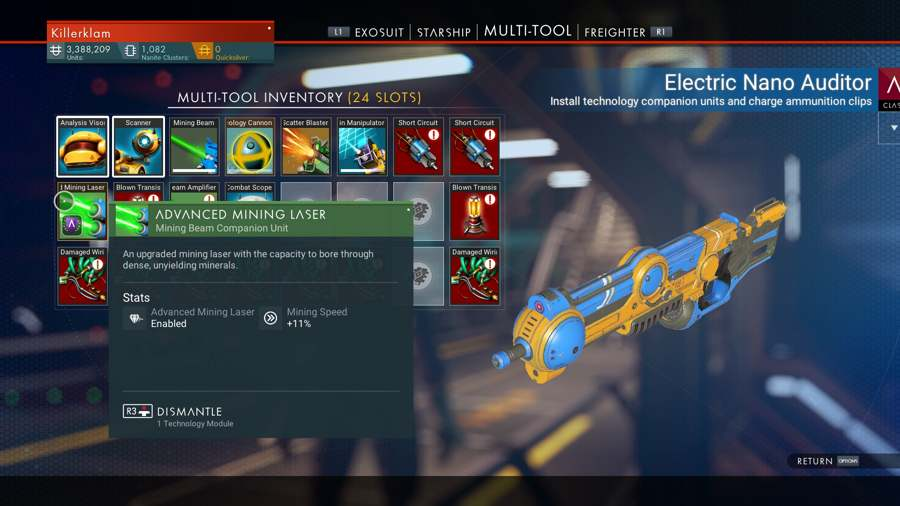 How To Get The Upgraded Mining Tool In No Man's Sky