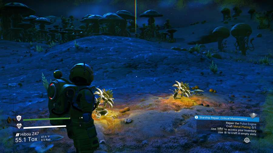 How To Repair Your Toxic Protection In No Man's Sky Next