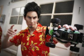 Cosplay Wednesday – Yakuza's Kazuma Kiryu