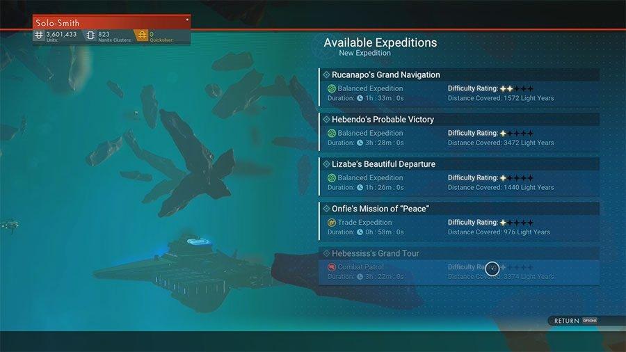 No Man's Sky Next Fleet Expedition Guide