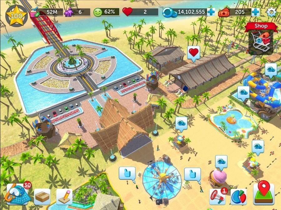RollerCoaster Tycoon Touch Water Park - Gamers Heroes