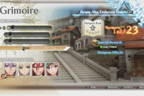 Shining Resonance Refrain Grimoire Dungeon Guide