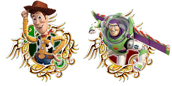 Woody and Buzz - Kingdom Hearts Union - Gamers Heroes