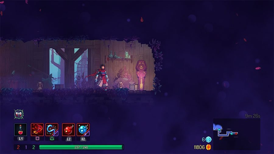 Dead Cells Purple Rub Statues - How To Use & Rune