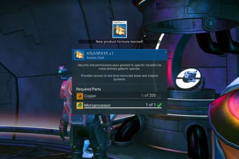 How To Get The Atlaspass V1 Blueprint In No Man's Sky Next