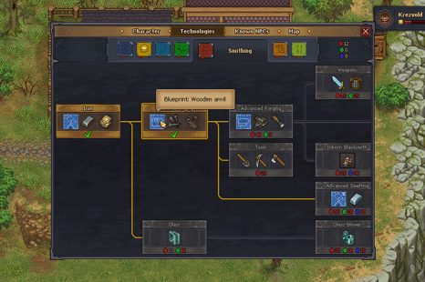 How To Make An Anvil In Graveyard Keeper