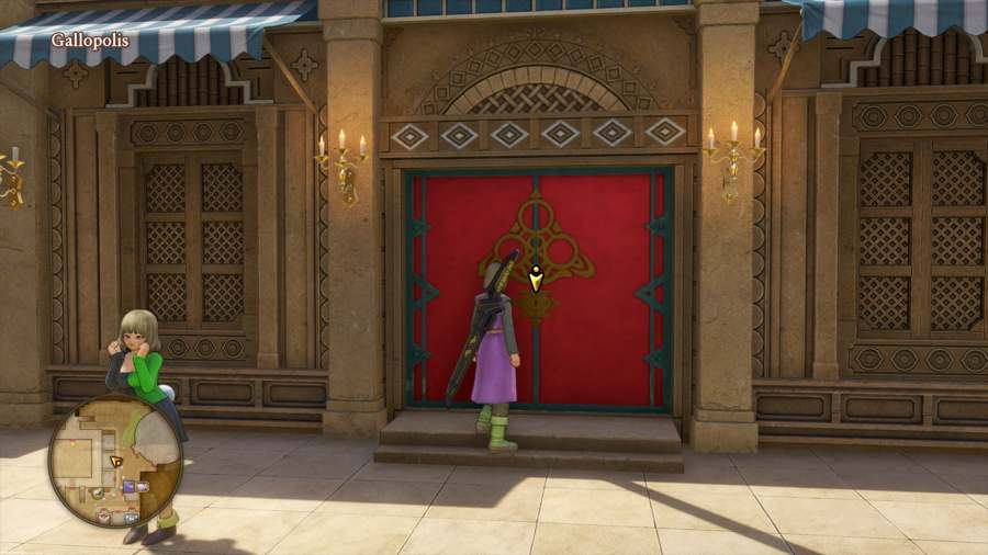 How To Open Red Locked Doors In Dragon Quest XI